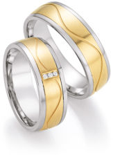 White Style Gold and Steel Selection 585 Brilliant